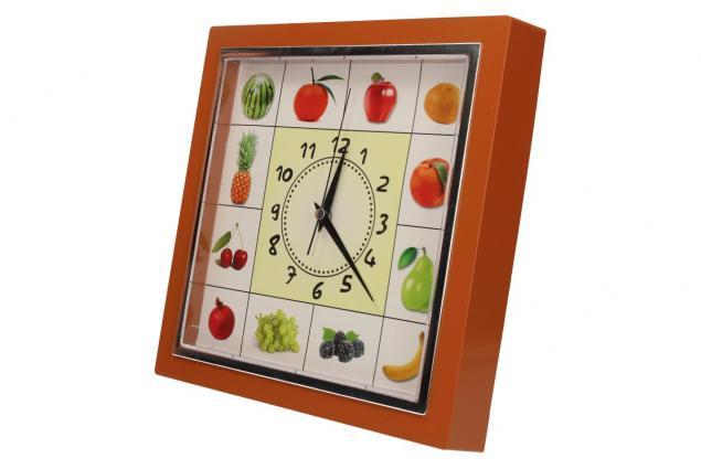 Foto 12 - Nástěnné hodiny FLORINA VEGA ovoce a zelenina ručičkové