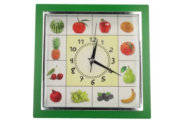 Foto 2 - Nástěnné hodiny FLORINA VEGA ovoce a zelenina ručičkové