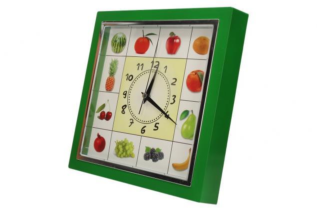 Foto 3 - Nástěnné hodiny FLORINA VEGA ovoce a zelenina ručičkové
