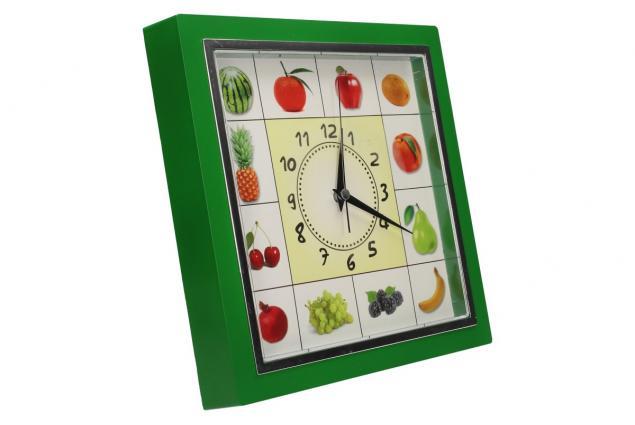 Foto 4 - Nástěnné hodiny FLORINA VEGA ovoce a zelenina ručičkové