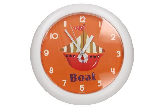 Foto 2 - Nástěnné hodiny FLORINA FUNNY loď ručičkové