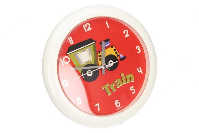 Foto 4 - Nástěnné hodiny FLORINA FUNNY vlak ručičkové