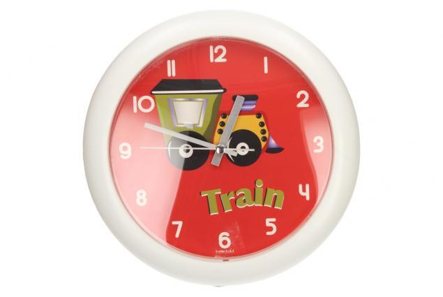 Foto 2 - Nástěnné hodiny FLORINA FUNNY vlak ručičkové