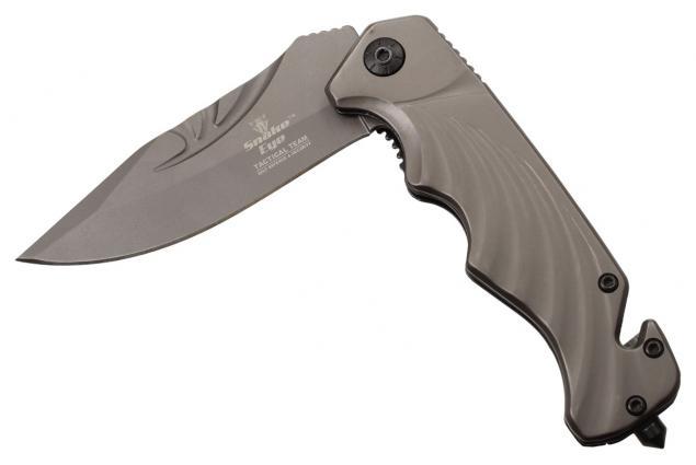 Foto 4 - Kvalitní kovový zavírací nůž s klipem
