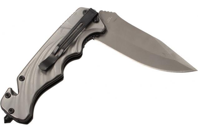 Foto 5 - Kvalitní kovový zavírací nůž s klipem