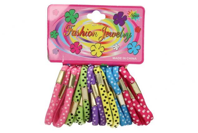 Foto 2 - Sada různobarevných gumiček do vlasů 24ks
