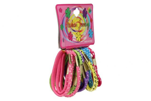 Foto 3 - Sada různobarevných gumiček do vlasů 24ks