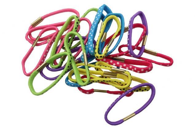 Foto 5 - Sada různobarevných gumiček do vlasů 24ks