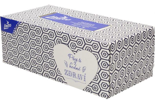 Foto 4 - Linteo papírové kapesníčky v krabičce 2-vrstvé 200 ks