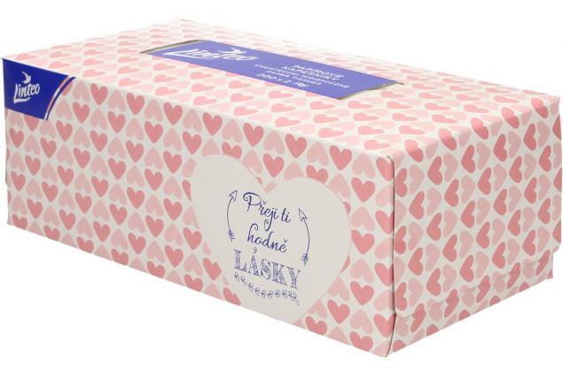 Foto 6 - Linteo papírové kapesníčky v krabičce 2-vrstvé 200 ks