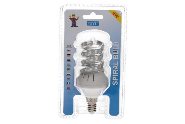 Foto 2 - Úsporná žárovka Spiral led 9w se závitem E14