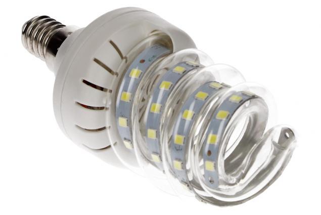 Foto 4 - Úsporná žárovka Spiral led 9w se závitem E14