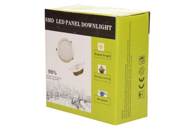 Foto 7 - Vestavné LED bodové světlo 7W čtvercové