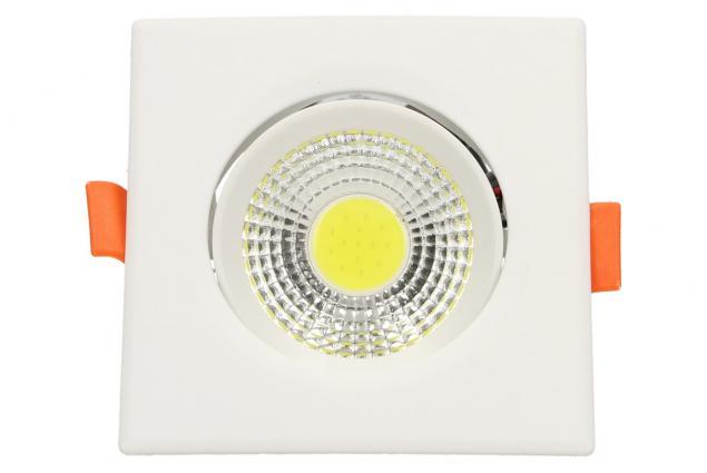 Foto 2 - Vestavné LED bodové světlo 7W čtvercové