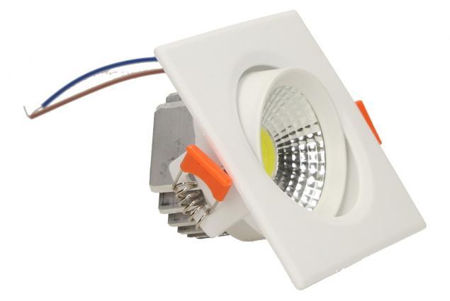 Foto 3 - Vestavné LED bodové světlo 7W čtvercové