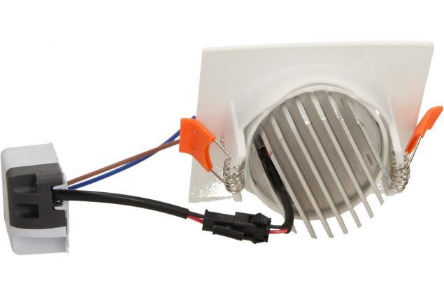Foto 4 - Vestavné LED bodové světlo 7W čtvercové