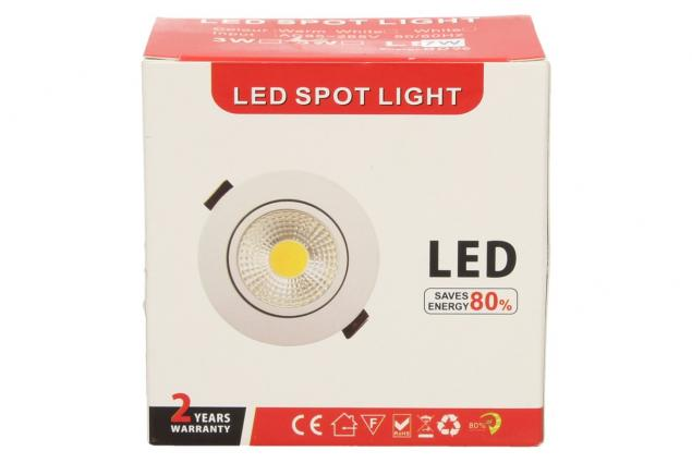 Foto 10 - Vestavné LED bodové světlo 7W kulaté