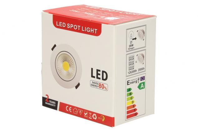 Foto 11 - Vestavné LED bodové světlo 7W kulaté