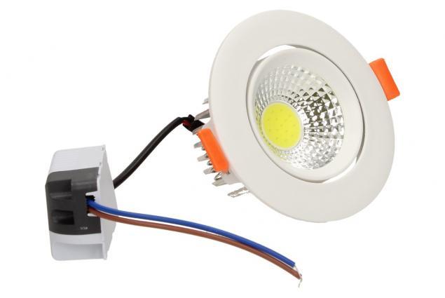 Foto 3 - Vestavné LED bodové světlo 7W kulaté
