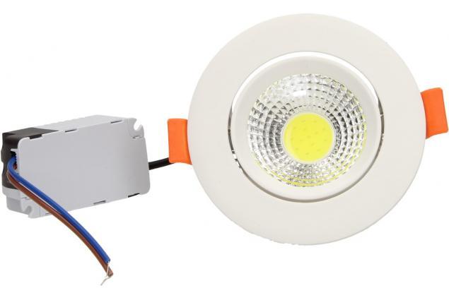 Foto 2 - Vestavné LED bodové světlo 7W kulaté