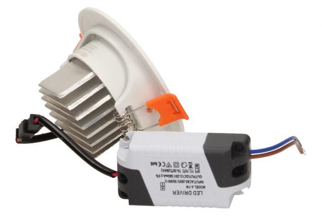 Foto 4 - Vestavné LED bodové světlo 7W kulaté