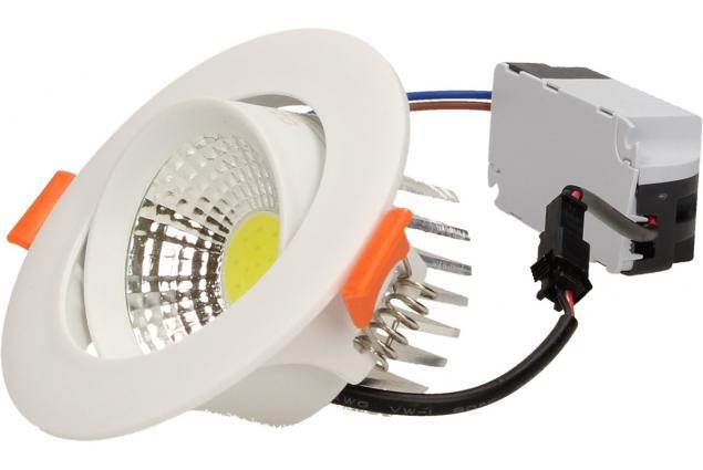 Foto 7 - Vestavné LED bodové světlo 7W kulaté