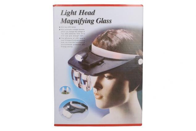 Foto 8 - Zvětšovací brýle s LED osvětlením