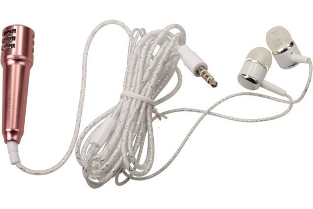 Foto 3 - Mini karaoke mikrofon se sluchátky