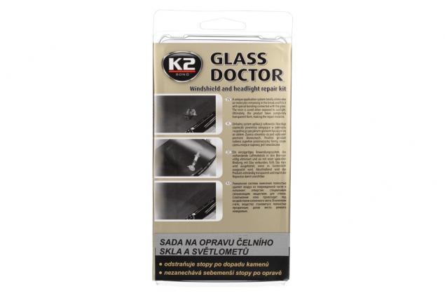 Foto 9 - K2 GLASS DOCTOR sada na opravu čelního skla a světlometů