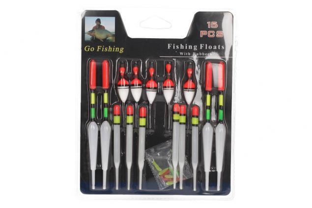Foto 2 - Rybářské splávky set 15ks