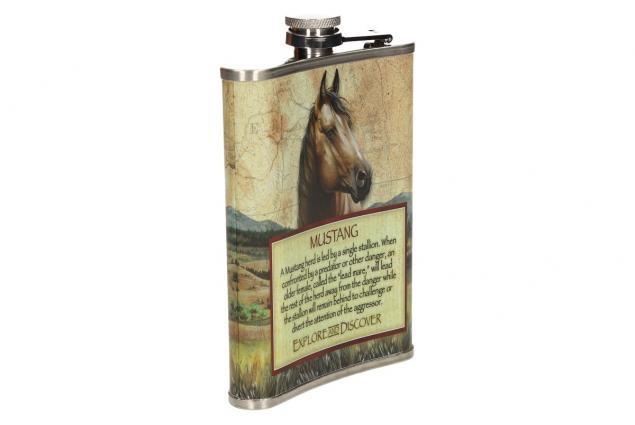 Foto 5 - Dárková sada placatka s motivem koně
