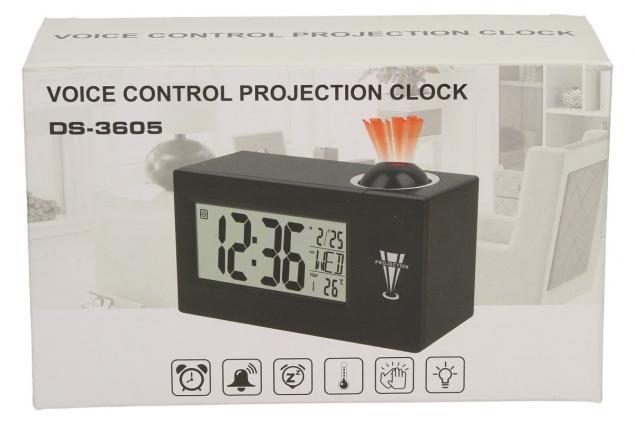 Foto 2 - Digitální projekční hodiny DS-3605