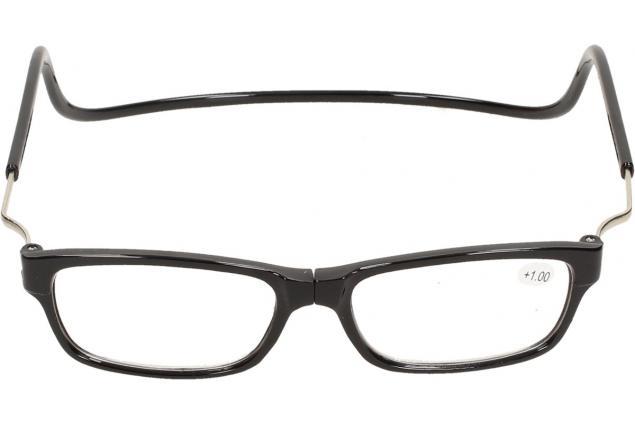 Foto 3 - Dioptrické brýle s magnetem černé +1,00