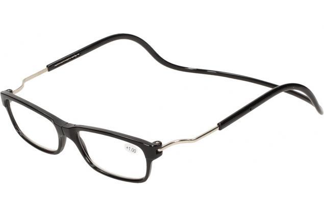 Foto 4 - Dioptrické brýle s magnetem černé +1,00