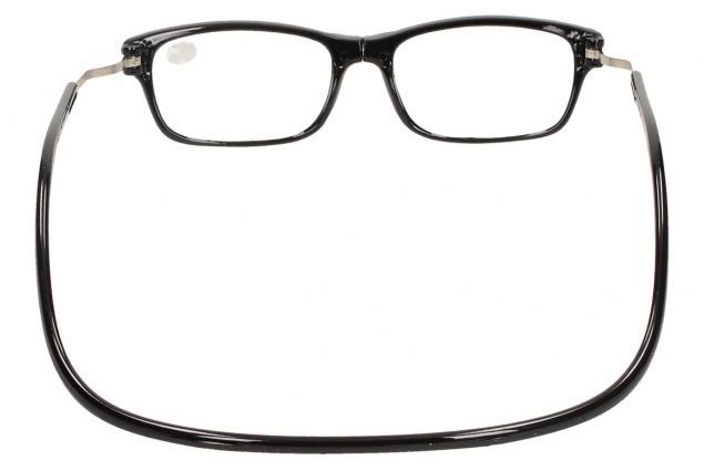 Foto 6 - Dioptrické brýle s magnetem černé +1,00