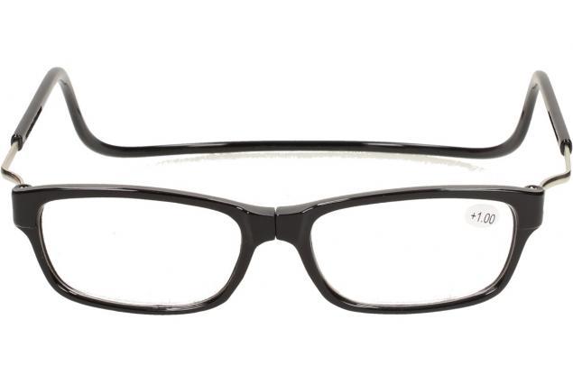 Foto 2 - Dioptrické brýle s magnetem černé +1,00