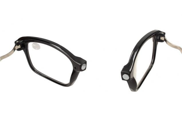 Foto 9 - Dioptrické brýle s magnetem černé +1,00