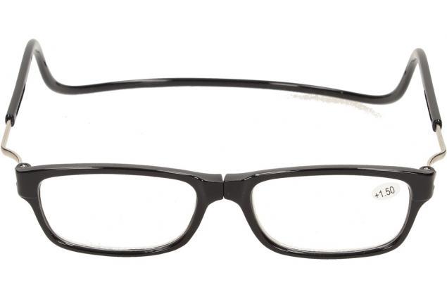 Foto 2 - Dioptrické brýle s magnetem černé +1,50