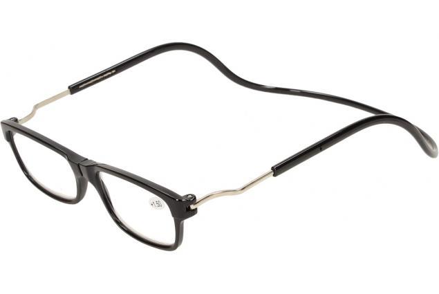 Foto 3 - Dioptrické brýle s magnetem černé +1,50