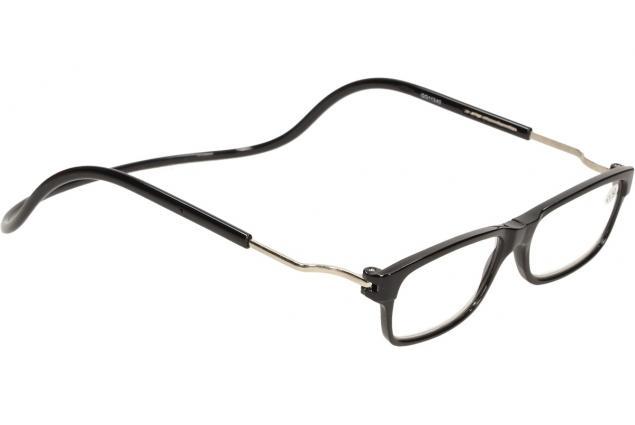 Foto 6 - Dioptrické brýle s magnetem černé +1,50