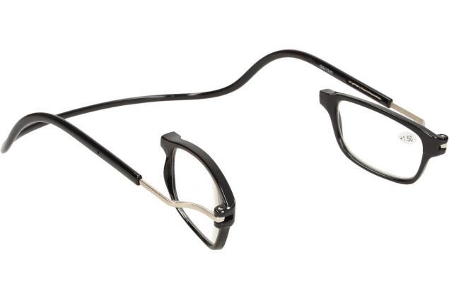 Foto 7 - Dioptrické brýle s magnetem černé +1,50