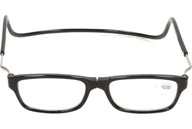Foto 2 - Dioptrické brýle s magnetem černé +2,00