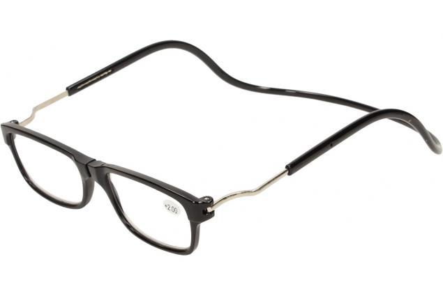 Foto 3 - Dioptrické brýle s magnetem černé +2,00