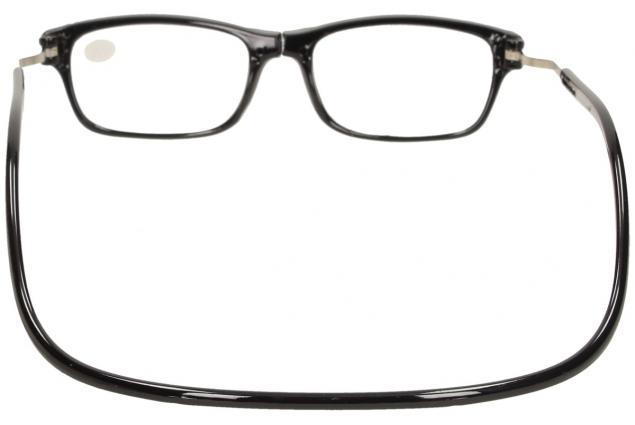 Foto 5 - Dioptrické brýle s magnetem černé +2,00