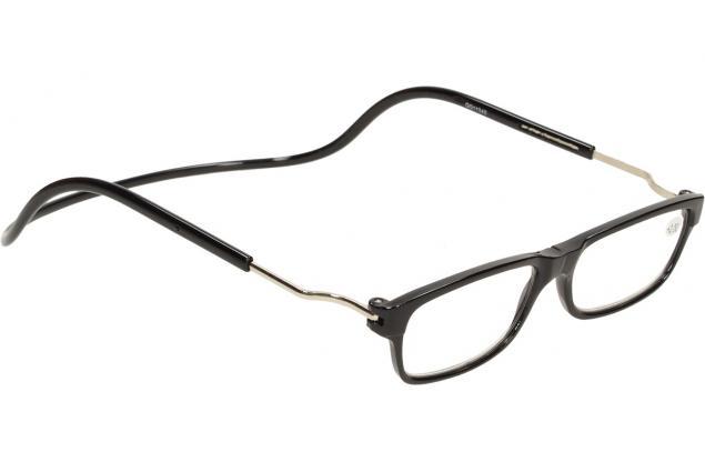 Foto 6 - Dioptrické brýle s magnetem černé +2,00