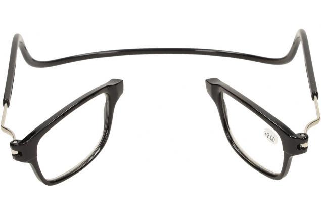 Foto 7 - Dioptrické brýle s magnetem černé +2,00