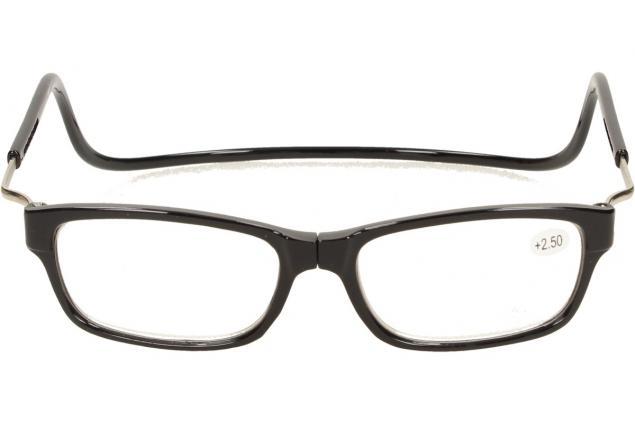Foto 2 - Dioptrické brýle s magnetem černé +2,50