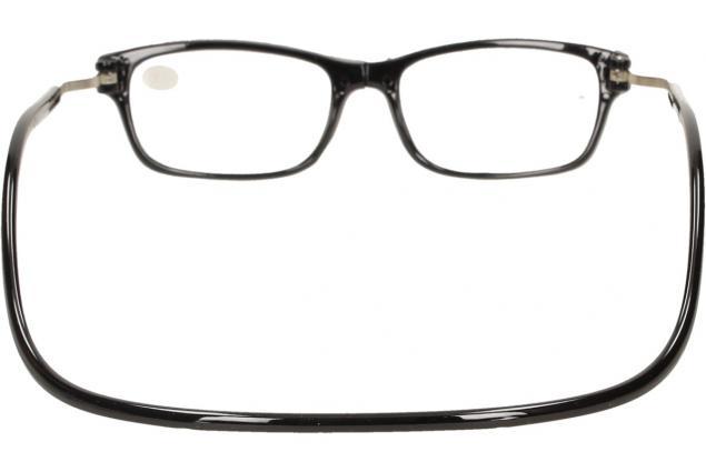 Foto 5 - Dioptrické brýle s magnetem černé +2,50