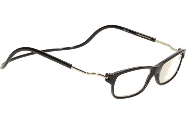 Foto 6 - Dioptrické brýle s magnetem černé +2,50