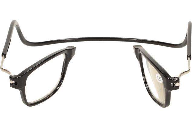 Foto 7 - Dioptrické brýle s magnetem černé +2,50